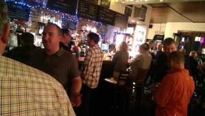 The Cellar bar full of people